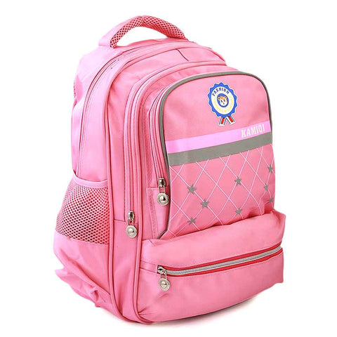 Kids School Bag (1689) - Light Pink
