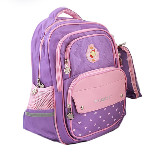 Kids School Bag (901) - Purple