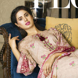 Libas Embroidered Printed Lawn 3 Piece Un-Stitched Suit Vol 1 - B5