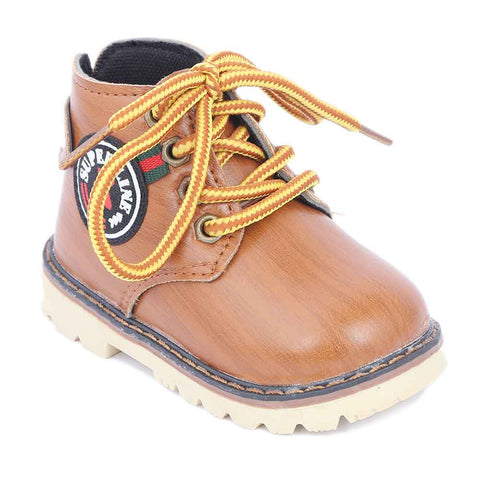 Boys Casual Shoes B05 - Camel