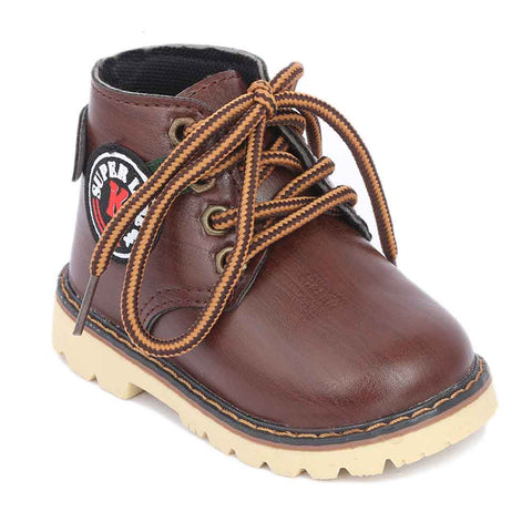 Boys Casual Shoes B05 - Brown