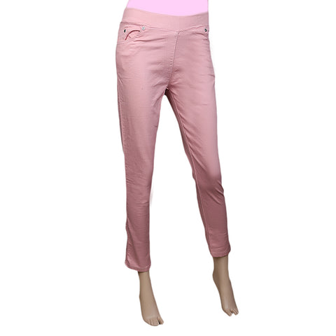 Women's Jegging - Lt Peach