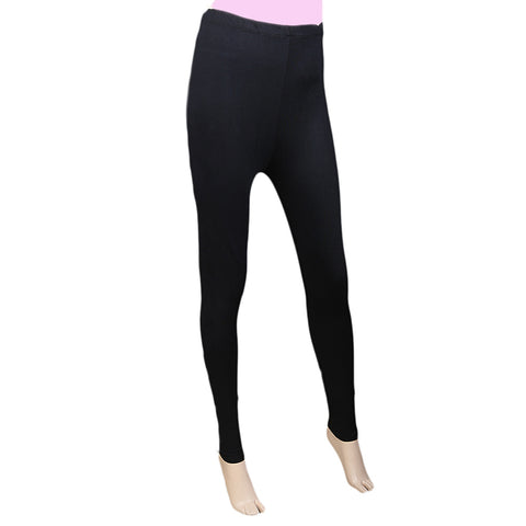 "Women's Side Print Tight 39"" Black"