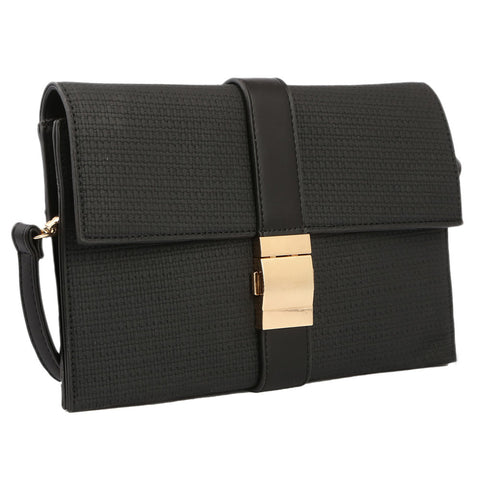 Women's Clutch H076 - Black