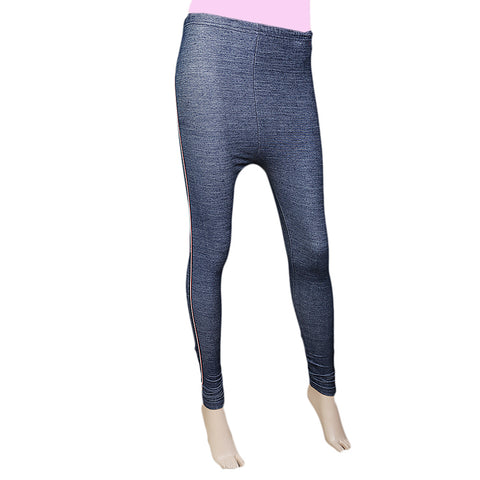 "Women's Side Lace DenimTight "" Blue"