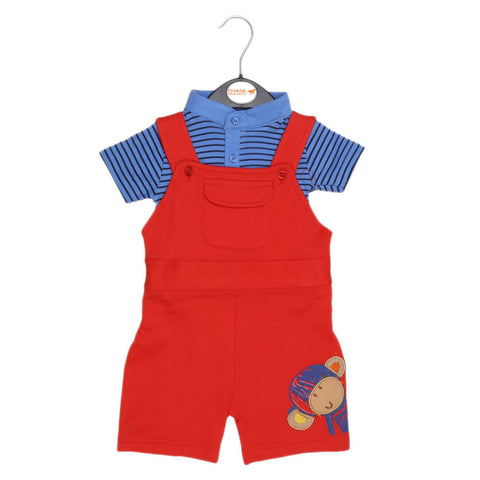Eminent Newborn Romper - Red - test-store-for-chase-value