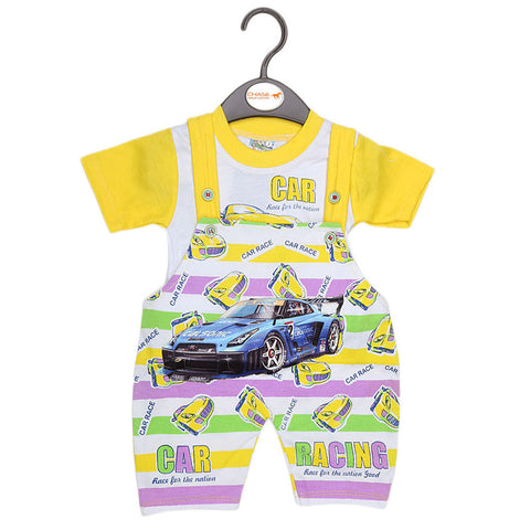 Newborn Romper - Yellow - test-store-for-chase-value