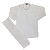 Boys Chicken Shalwar Suit - White