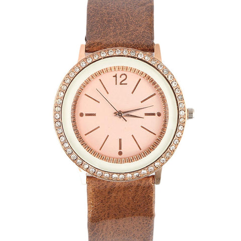 Women's Wrist Watch - Copper