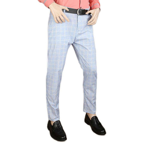 Men's Cotton Chino Pant - Sky Blue
