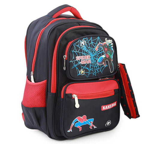 Kids School Bag (1679) - Black