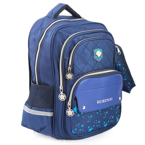 Kids School Bag (901) - Navy Blue