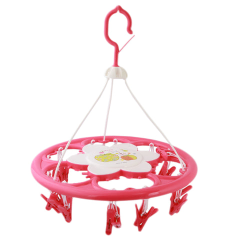Hosiery Drying Hanger -Pink