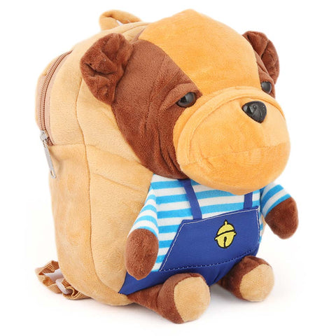 Kids Stuffed Bag - Camel