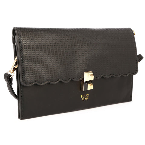 Ladies Clutch 9349 - Black