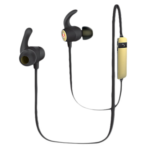 Audionic Wireless Neckband Earbuds (B720) - Golden