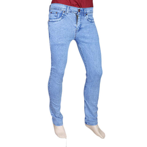 Men's Slim Fit Jeans Pant - Blue