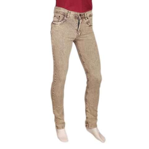 Men's Slim Fit Jeans Pant - Brown