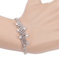 Women's Fancy Bracelet - Silver - test-store-for-chase-value