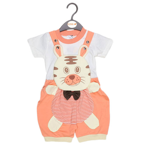 Newborn Romper - Light Pink - test-store-for-chase-value