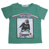 Boys Half Sleeves T-Shirt - Green