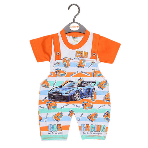 Newborn Romper - Orange - test-store-for-chase-value