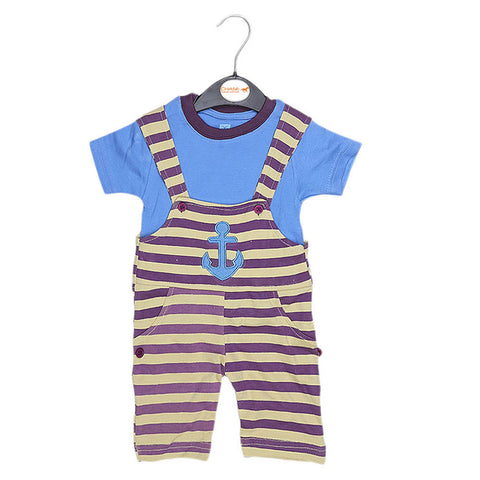 Eminent Newborn Romper - Light Blue - test-store-for-chase-value