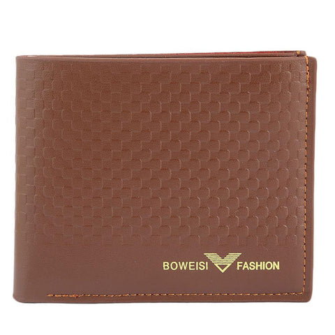 Men's Leather Wallet - Brown - test-store-for-chase-value