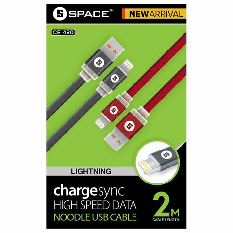 Space High Speed Data Noddle USB Cable (CE-480) - test-store-for-chase-value