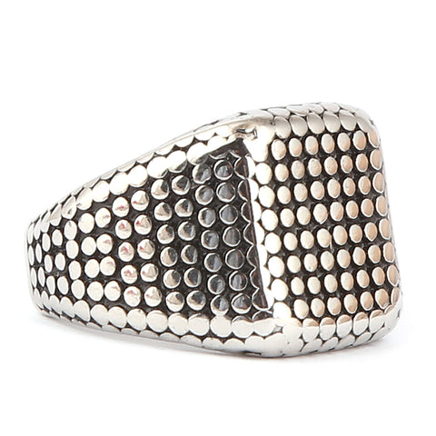 Men's Fancy Ring - Silver - test-store-for-chase-value