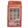 Girls Jell Nail Tip Set - Red