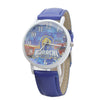 Karachi Kings Analog Strap Watch For Men - Blue
