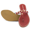 Women's Fancy Slippers KL-049 - Maroon