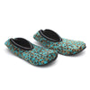 Women's Velvet Socks - Sea Green