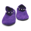 Women's Velvet Boot Socks - Purple