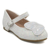 Girls Fancy Pumps 201 (AMD-1-240) - White