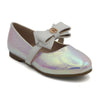 Girls Pumps 206 (AMD-1-240) - Silver