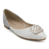 Girls Pumps M992-331 (14A1) - White