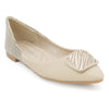 Girls Pumps M992-331 (14A1) - Beige