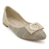 Girls Pumps M992-B1 (14C1) - Beige