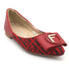 Girls Pumps S992-304 (13Z1) - Red