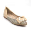 Girls Pumps S992-B1 (14B1) - Beige