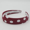 Girls Fancy Hair Band - Maroon