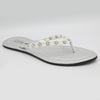 Women's Fancy Slippers J-528 - Silver