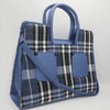 Women's Handbag C008 - Navy Blue