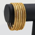 Women's Bangles - Golden