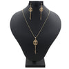 Women's Locket Set - Golden