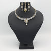 Women's American Diamond Bridal Set - Golden