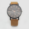 Men's Analog Strap Watch - Camel