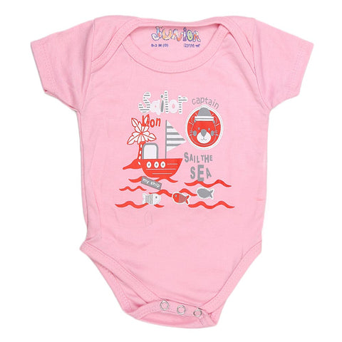 Newborn Girls Romper - Pink - test-store-for-chase-value